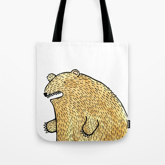 humble bear Tote Bag
