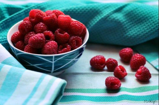 Ruby Delicious - Raspberry Still Life Art Print