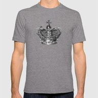 #ERROR57.02 Mens Fitted Tee Tri-Grey SMALL