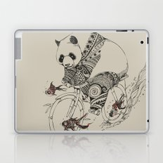 Panda and Follow Fish Laptop & iPad Skin