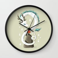 Dragon Spirit Wall Clock