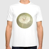 Sweet Dandelions  Mens Fitted Tee White SMALL