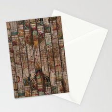 Encrypted Map Stationery Cards
