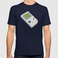 Gameboy Mens Fitted Tee Navy SMALL