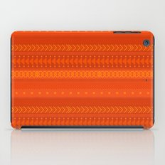 Lava - tribal geometrics iPad Case