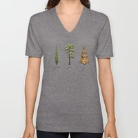 Fur Tree Unisex V-Neck