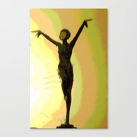 Deco Dance Canvas Print