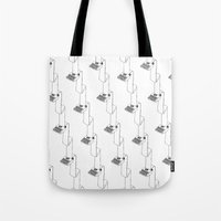 Continuous Typing Patter… Tote Bag