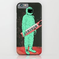 iPhone Cases featuring Space Jam by Chase Kunz