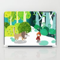Red Riding Hood and The Wolf iPad Case