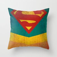 Supergirl Throw Pillow