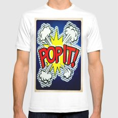 So Pop ! Mens Fitted Tee White SMALL