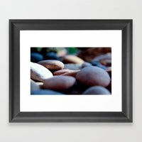Pebbles We Carry/2 Framed Art Print