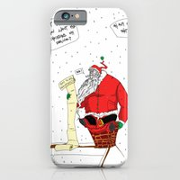 iPhone & iPod Case featuring Shitty Christmas by Wakamonoyagomi-bot