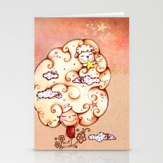 Day Dreaming Stationery Card