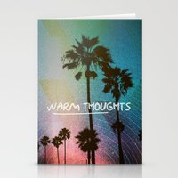 Warm Thoughts Stationery Cards
