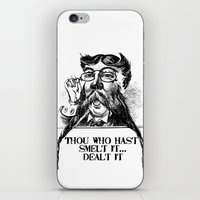 Vintage Thou who hast smelt it, dealt it  iPhone & iPod Skin