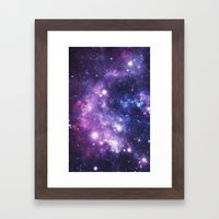 Galaxy Framed Art Print