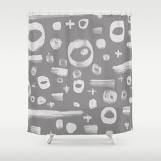On And On Shower Curtain