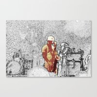 Horns Canvas Print