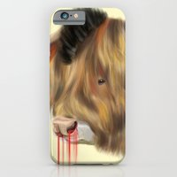 iPhone & iPod Case featuring The Bull by Vasco Vicente