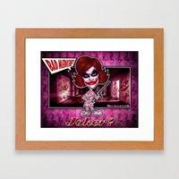 The Joker concept! Framed Art Print