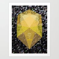 Shine Bright Like A Diam… Art Print