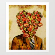 Art Print featuring Dr. Amor by Diego Tirigall