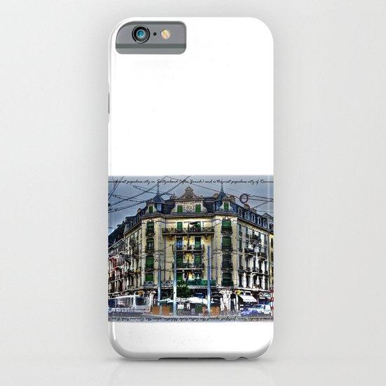 Geneva -  Switzerland iPhone & iPod Case