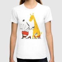 zebra T-shirts featuring Zebra Tattoo by Picomodi