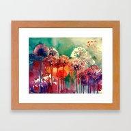 Allium 2 Framed Art Print