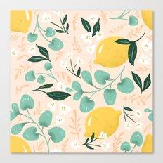 Lemon Party Canvas Print