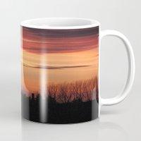 Sunset Over Ingoldisthorpe Mug