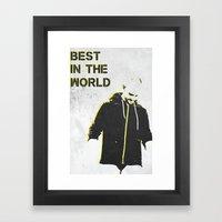 B.I.T.W. Framed Art Print
