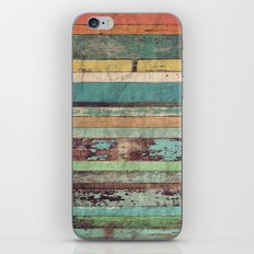 Wooden Vintage  iPhone & iPod Skin
