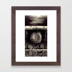 Ask Framed Art Print