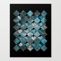 SquareTracts Canvas Print