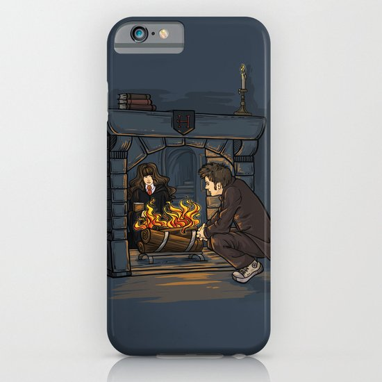 The Witch in the Fireplace iPhone & iPod Case