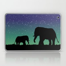 Elephant Silhouettes  Laptop & iPad Skin