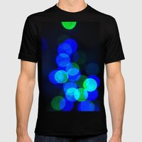 Christmas Wishes Mens Fitted Tee Black SMALL