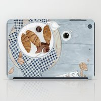 Croissants With Cherry Jam iPad Case