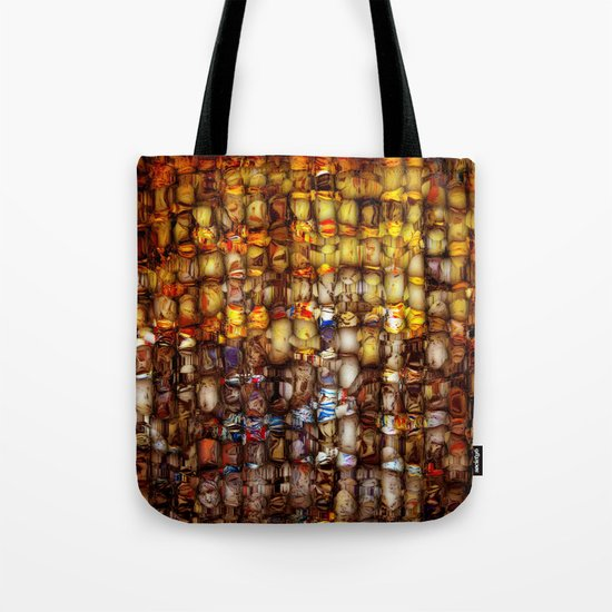 ABSTRACT - Gordion knot Tote Bag