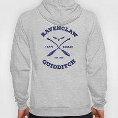 Ravenclaw Quidditch Team Seeker: Blue Hoody