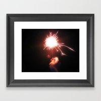 Sparkle On Framed Art Print