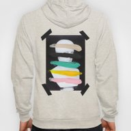 Untitled (Finger Paint 1… Hoody