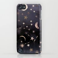 iPod Touch Cases featuring Constellations  by Nikkistrange