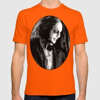 The Name In Laughter Fro… Mens Fitted Tee Orange SMALL