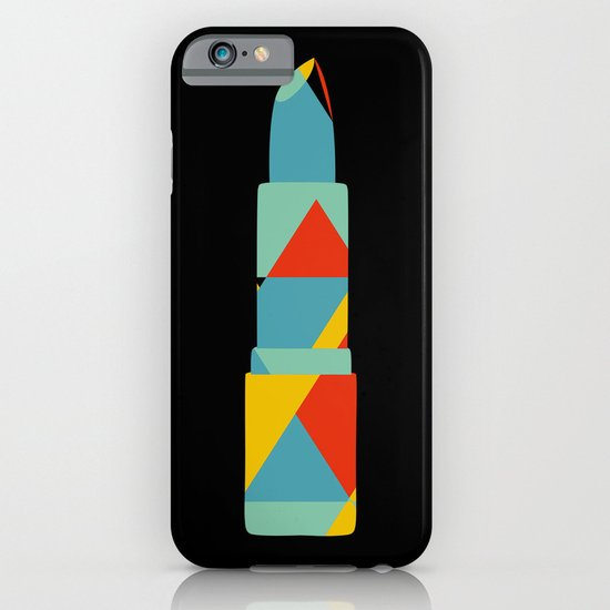 Lipstick Hues on Black iPhone & iPod Case