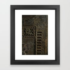 Brass Era Framed Art Print