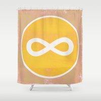 Infinity 1 Shower Curtain
